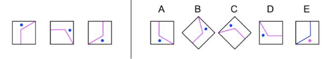 Cogat 5th Grade Figure Classification Question