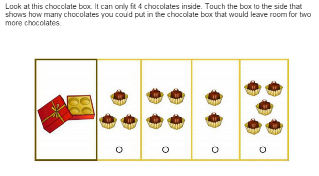 Sample NYC Gifted and Talented First Grade OLSAT Question