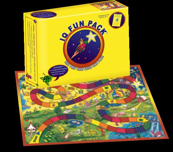 IQ Fun Pack game board