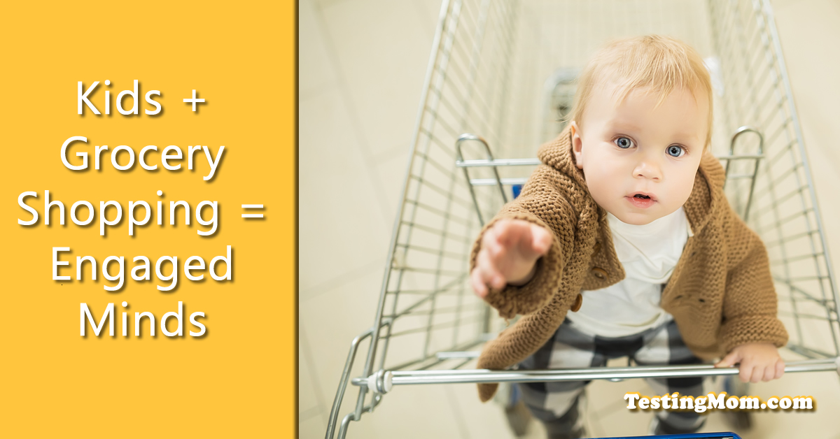 Kids + Grocery Shopping = Engaged Minds