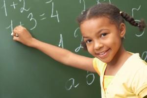 blackboard girl