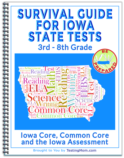 What is the Iowa Test of Basic Skills and State Common Core Standards Test?
