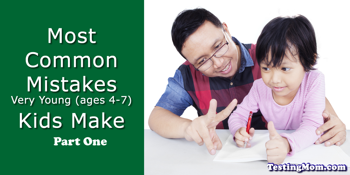 Most Common Mistakes Kids Make One
