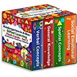 Gifted Learning Flash Cards Bundle - Kindergarten in a Box Set 2 - Verbal Concepts, General Knowledge, Spatial Concepts, Social Emotional Learning