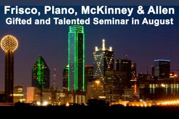 Frisco, Plano, McKinney, Allen Live Event - Understanding the G&T Testing and Admissions Process - August 29 at 7:00 PM