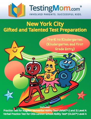 NEW NYC Gifted and Talented Testing Kindergarten-1st Grade Practice Test