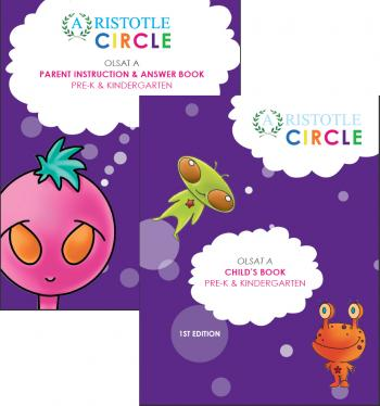Workbook and Practice Test for OLSAT® Assessment Level A/Grade Pre-K and K by Aristotle Circle