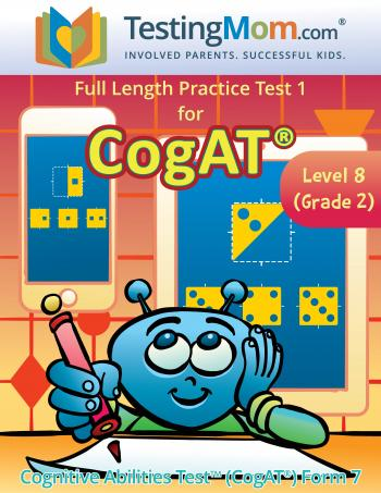 NEW CogAT 2nd Grade Practice Test