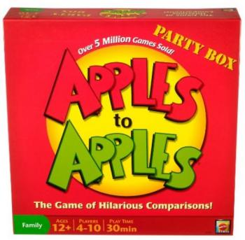 Apples to Apples Party Box - The Game of Crazy Combinations -Family Edition (Verbal Reasoning)