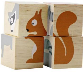 BeginAgain BuddyBlocks - Backyard Animals (Spatial Visualization)