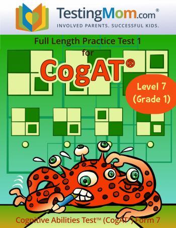 CogAT 1st Grade Practice Test