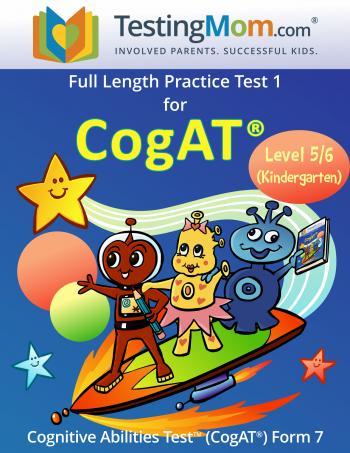NEW CogAT Pre-K-Kindergarten Practice Test