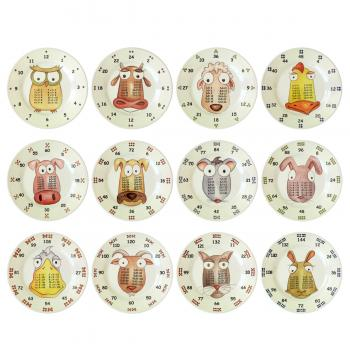 The Multiples 12 Piece plate set