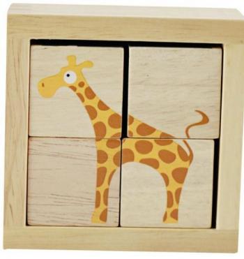 BeginAgain BuddyBlocks - Safari Animals (Spatial Visualization)