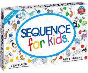 Sequence for Kids Board Game (Serial Reasoning)