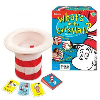 Dr. Seuss What's in the Cat's Hat? Game (Verbal Reasoning)