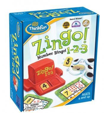 ThinkFun Zingo 1-2-3 (Mathematics)