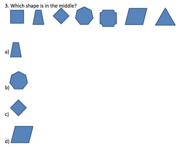 TerraNova 2nd Grade Practice Questions - Mathematics