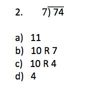 TerraNova 3rd Grade Practice Questions - Mathematics