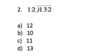TerraNova 5th Grade Practice Questions - Mathematics